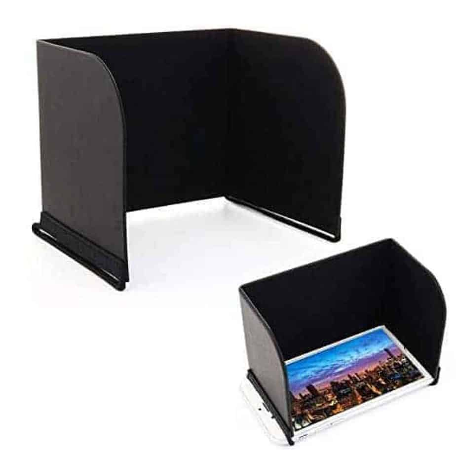 tablet or mobile phone sunshade viewer